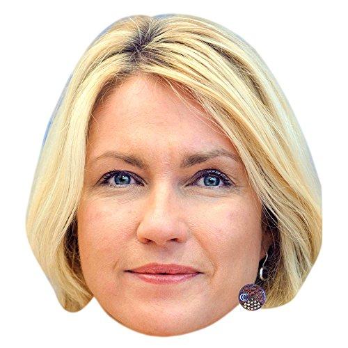 Celebrity Cutouts Manuela Schwesig (Short) Maske aus Karton