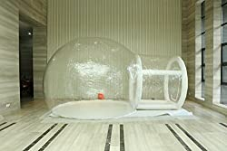 image of bubble tent reviews