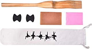 Ballet Foot Stretch, Wooden Ballet Dance Foot Stretcher Arch Enhancer with Elastic Band for Ballet Dace Gymnastics and Yoga