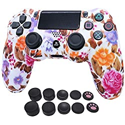 ♥ 【SUPER FIT】 - The silicone cover/skin for SONY PlaySation (PS4 /SLIM /PRO) controller,Fit especially around the charging port and buttons. Strong silicone material but flexible and sort to touch so good to hold with extra grip on the textured surfa...