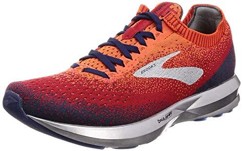 Brooks Levitate 2, Zapatillas de Running Hombre, Naranja (Orange/Red/Navy 894), 47.5 EU