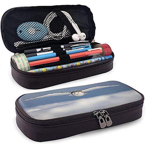 Hibou Decor Decoy Diaries Cadeaux Pellets Owlet Étui à crayons en cuir, Trousse de maquillage de voyage, Boîte à pochette