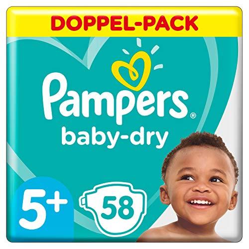 Pampers Baby Dry Gr.5+ Junior Plus 12-17kg Doppelpack