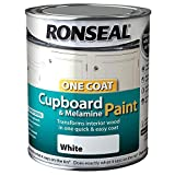 RONSEAL 35909 White OC Cupboard Paint Gloss 750ML, 750 ml (Pack of 1)
