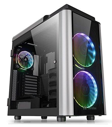 Thermaltake Level 20 GT E-ATX Full Tower Vertical GPU Modular Gaming Computer Case, Black