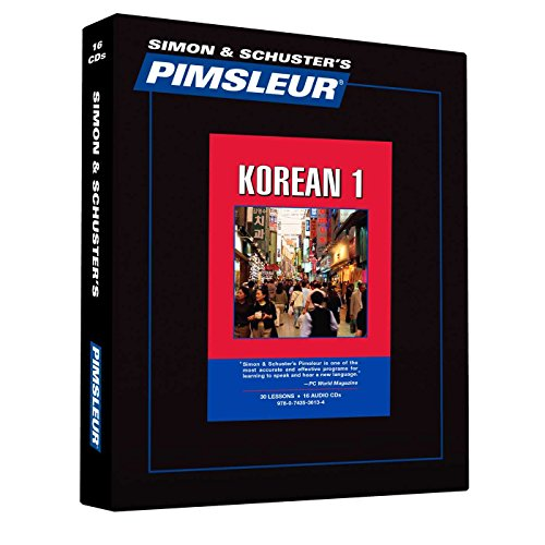 Pimsleur Korean Level 1 CD: Learn to Speak and Understand Korean with Pimsleur Language Programs (1) (Comprehensive)
