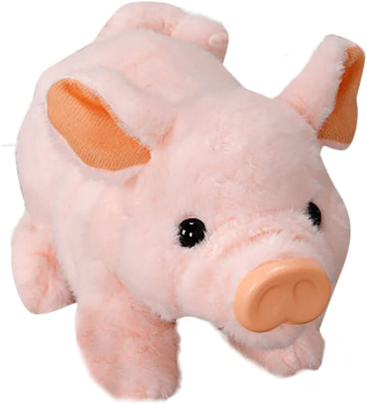 【Shipping from US 】 Electronic Pet Fa Plush Pig Cute Ranking Max 55% OFF TOP20