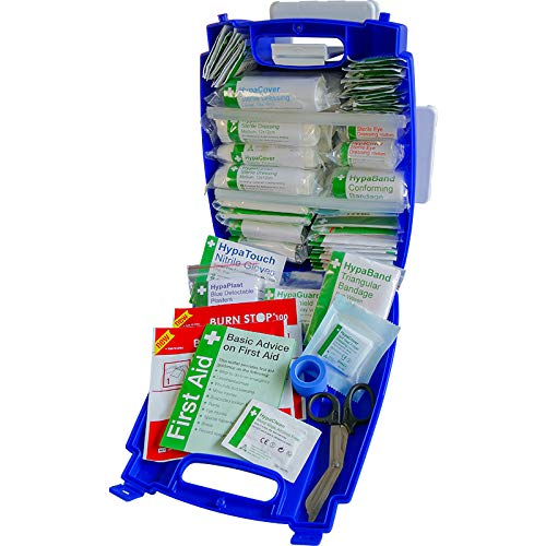 Safety First Aid Evolution Plus Kit de primeros auxilios para catering BS 8599, tamaño mediano