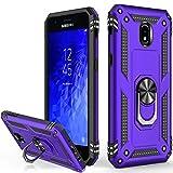 Galaxy J3 2018 Case,Galaxy J3 Star/J3 2018/J3 Orbit/J3 Achieve/J3 Prime 2/J3 Emerge 2018/Amp Prime 3/J3 Eclipse 2/Sol3/J3 Aura Case,Protective Phone Case for Samsung Galaxy J3 2018 Purple