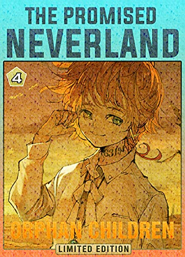 Orphan Children: Book 4 New 2021 Adventure Media Tie-In manga Comic For Kids Great The Promised Neverland (English Edition)