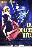 Dolce Vita, La - Poster - One Sheet - Italian Edition +
