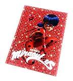 DIARIO Scuola 10 Mesi Miraculous - Prodotto Ufficiale - Dimensioni 15 X 20 CM (Ladybug Intera)
