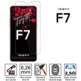 TM-Concept® Cristal Protector OPPO F7 – Cristal Templado – 0,26 mm Radian 2.5D