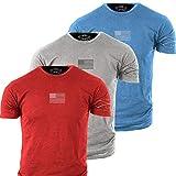 Grunt Style Freedom Pack 3-Pack Men's T-Shirts (Medium)