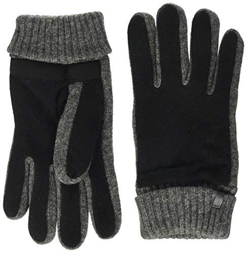 ESPRIT Accessoires Herren 119EA2R006 Handschuhe, 001/BLACK, Small (Herstellergröße: S)