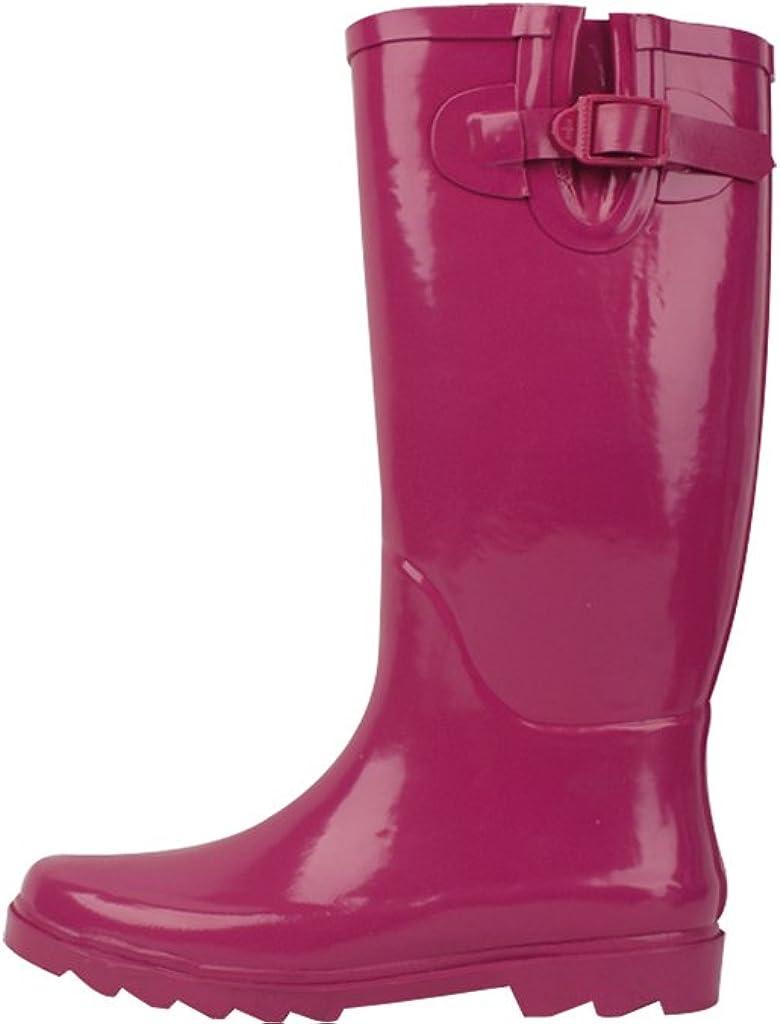 Sunville New Brand Women's Rubber Rain Boots
