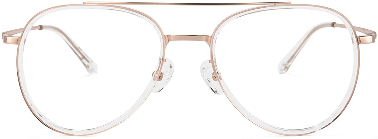 Zeelool Readers Chic Super beauty product restock quality top TR90 Aviator for Glasses Reading Max 52% OFF with Women