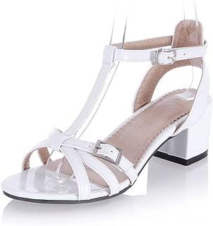 BalaMasa Womens ASL06927 Pu Heeled Sandals