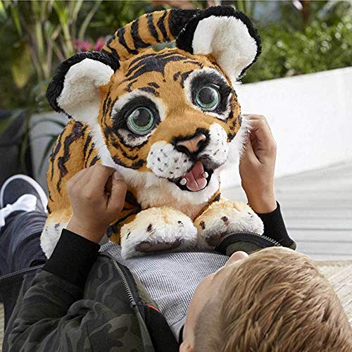 Furreal Roarin Tyler is one of the top interactive plush toys for kids