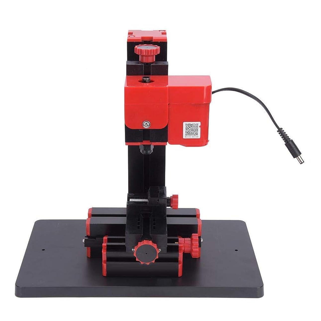 日記敬なダウンタウン6 in 1ミニ電動旋盤 ミニ電動旋盤メタルマイクロミシン過電流、過電圧、過熱保護がある多機能DIY木工ツール110-240V
