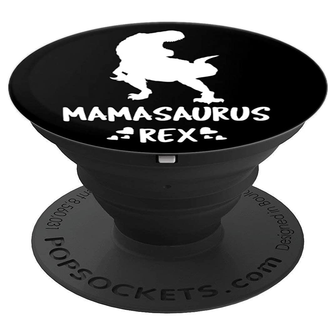 Mothers Day Mamasaurus Rex Dinosaur - PopSockets Grip and Stand for Phones and Tablets