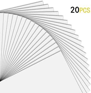 Printable Vinyl for Inkjet Printer, 20 Sheets Premium Glossy White Waterproof Printable Vinyl Paper,8.3