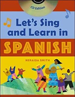 Let's Sing and Learn in Spanish, Book and CD Edition