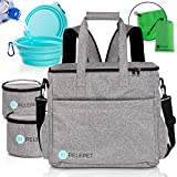 PELEPET Travel Bag for Dogs - Small, Medium & Large Dogs. 3 in 1 Styles:...