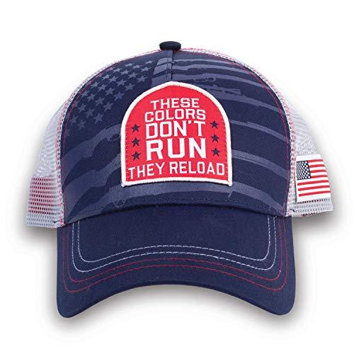 Buck Wear Colors Reload Cap weiß/blau