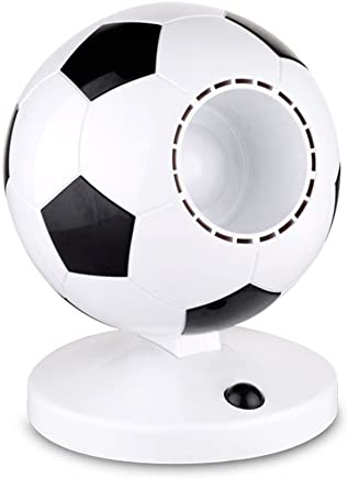 Mini USB Table Bladeless Fan, World Cup Soccer Silent Low Noise Leafless Fan for Home