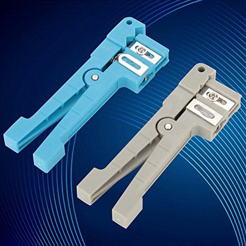 Pelacables de fibra óptica, pelacables de fibra óptica eficiente Tipos de pantalla de cable de alimentación flexible para pelar Cable de fibra óptica para pelar fibra simplex(45-162+45-163)