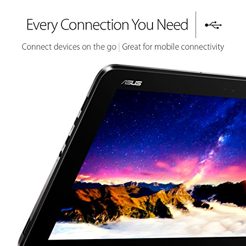 Product Image 7: ASUS Transformer Book T101HA-C4-GR 10.1-Inch 2-in-1 Ultraportable Laptop with Intel Core X5 1.44 GHz 4GB 64GB HD Windows 10 Touchscreen, Gray
