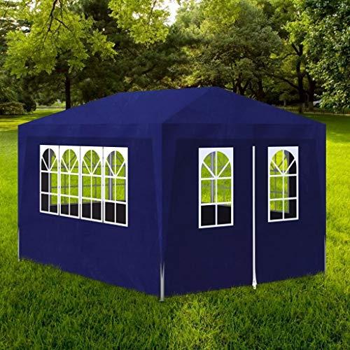 Carpa al aire libre Partido Carpa 3 x 4 m Paneles Azules...