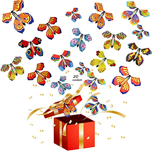Magic Flying Butterfly Surprise Gift Box