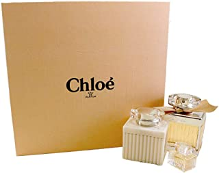 Chloe by Perfumes Chloe Perfume Gift Set for Women Eau de Parfum 3 Count