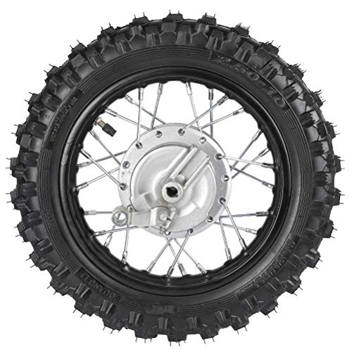 WPHMOTO 2.5-10 10Inch Rear Wheel Tire and Rim 1.4 x 10 With 12mm Bearing for 50cc CRF50 XR50 Dirt Pit Bike