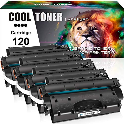 Cool Toner Compatible Toner Cartridge Replacement for Canon 120 cartridge 120 CRG-120 Canon imageCLASS D1120 D1550 D1150 D1320 D1350 D1520 D1100 D1370 D1180 D1170 MF6680DN MF417dw (Black, 4-Pack)