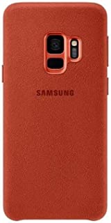 Samsung Galaxy S9 Alcantara Cover- Red, Ef- Xg960A