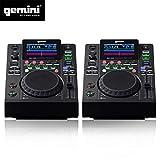Double Platines Lecteurs LCD Gemini MDJ-500 professionnels USB MP3 Media Player Mode MIDI