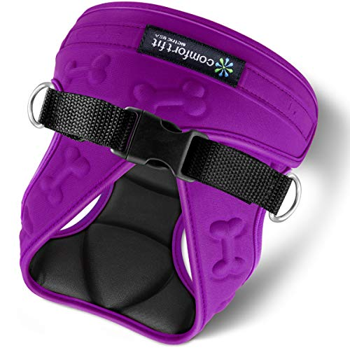 metric usa / Comfort Fit Pets Soft Padded Interior & Exterior Puppy Harness Easy to Put on &...