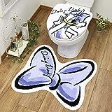 Disney(ディズニー) デイジー デイジーダッグ トイレ―カバー&マット 2点セット 洗浄暖房用 SB-491-D