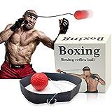 Woochic Boxing Reflex Ball, Boxing Training Ball, Speed Training Adatto per Adulti e Bambini Migliora la Messa a Fuoco del Pugno, Boxe Fight Ball con Fascia in Nylon