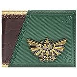 Cartera de Legend of Zelda Enlace Twilight Princess Juego para Arriba marrón