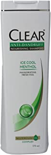 Clear Ice Cool Menthol Anti-Dandruff Shampoo 170ml