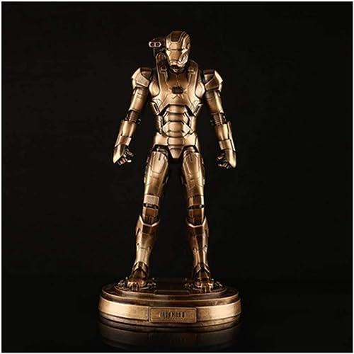 hasta un 60% de descuento CCJW Modelo de Juguete Iron Man 3 Doll Patriot Character Character Character Decoration PVC Caja de Regalo Manualidades 30 cm  bajo precio