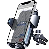Upgrade Car Phone Holder, TOLLEFE Never Fall Strong Grip Hook Air Vent Phone Mount, [Big Phone and Thick Cases Friendly] Phone Holder for Car, Compatible with All iPhone 4.0