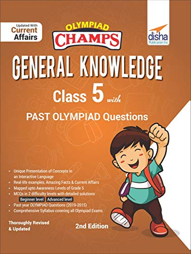 Olympiad Champs General Knowledge Class 5 with Past Olympiad Questions 2nd Edition