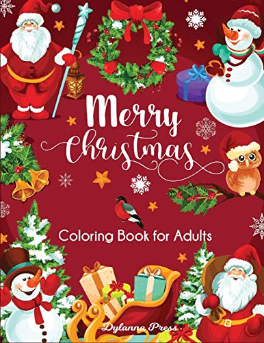 Merry Christmas Coloring Book for Adults: Beautiful Holiday Designs