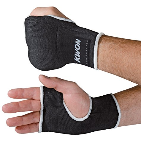 KWON Innenhandschuh mit Polsterung S/M schwarz