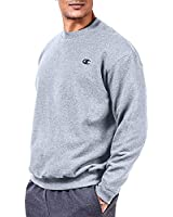 Champion Men's Big & Tall Fleece Sweatshirt Heather Grey 5XL